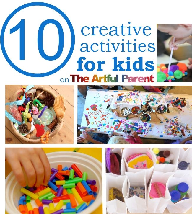 10 CREATIVE ACTIVITIES FOR KIDS Art Kids Its Beautiful To Watch The Doors