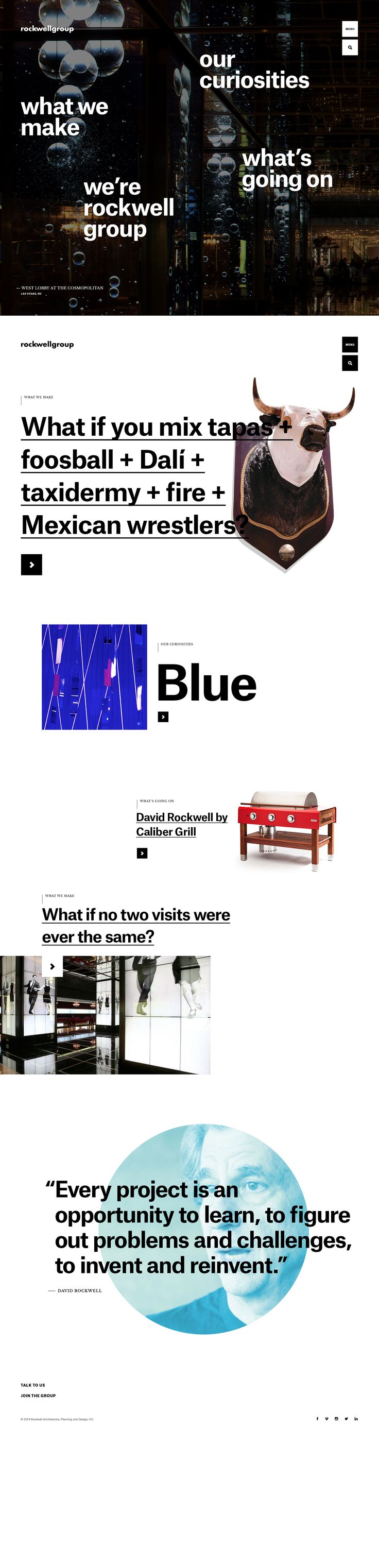 Rockwell Group - Things We Make - Code and Theory
