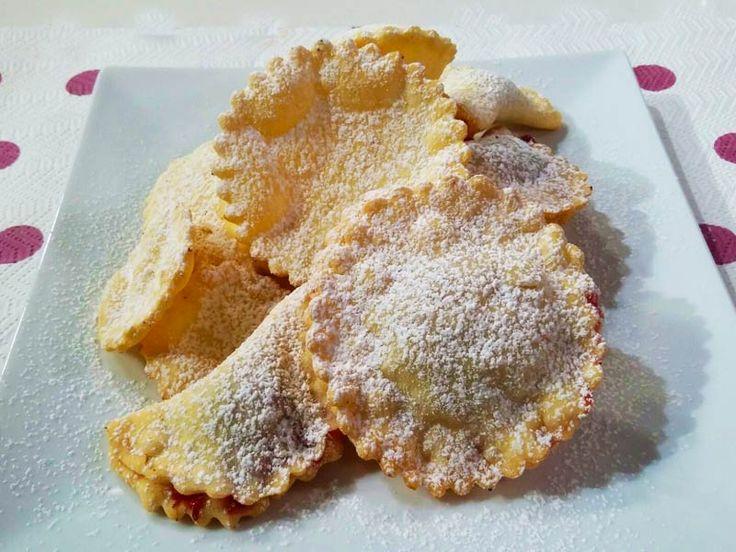 Foto delle frittelle ripiene senza glutine