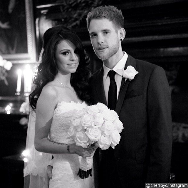 Congratulations are in order for Cher Lloyd. The 20-year-old British singer tied the knot with her beau Craig Monk in a low-key ceremony Mon...