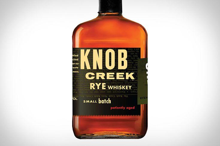 Knob Creek Rye Whiskey ($36)