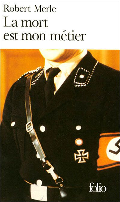 """Robert Merle : La mort est mon métier, 1952 - """"Death Is My Trade"""" is a French fictionalized biographical novel by Robert Merle. The protagonist, Rudolf Lang, was closely based on the real Rudolf Höß, commandant of the concentration camp Auschwitz."""