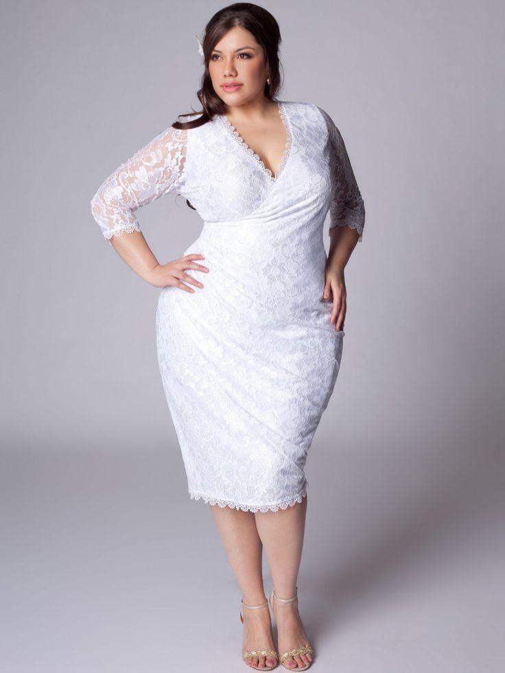 white plus size dresses 37 #plus #plussize #curvy