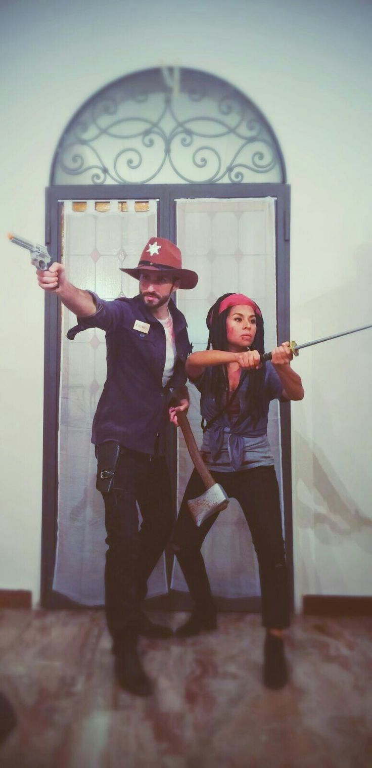 the walking dead - Rick and Michonne costume