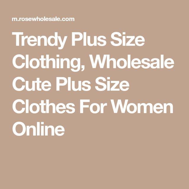 Trendy Plus Size Clothing, Wholesale Cute Plus Size Clothes For Women Online