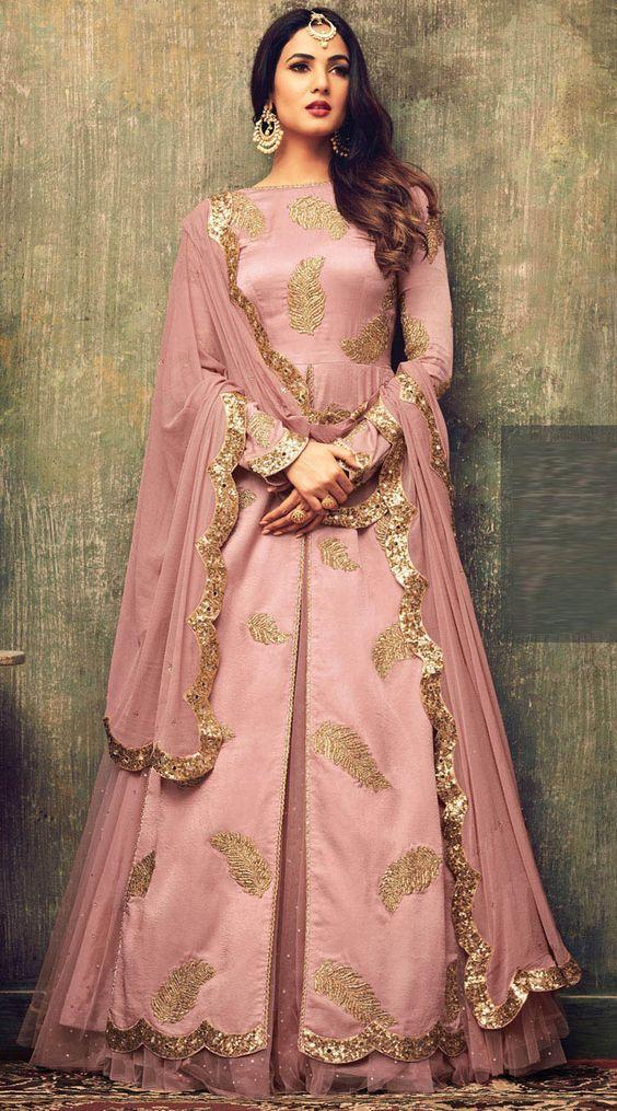 Sonal Chauhan Fancy Function Wear Designer Suits #CelebrityCollection #Partywear #Designer #FrontCut #Indowestern
