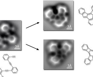 Photographs capture the moment atoms bond for the first time Scientists have been able to visualize bonds using atomic force microscopy, a technique that can deliver higher resolution than even a scanning tunnelling microscope.