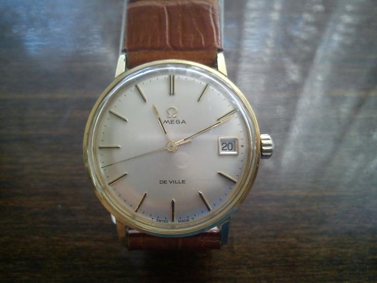 Vintage Omega De Ville Men's Watch - 60's. $550.00, via Etsy.