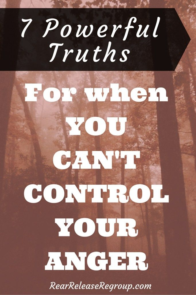 Anger Problem Quotes: 7 Powerful Truths For When You Can't Control Anger