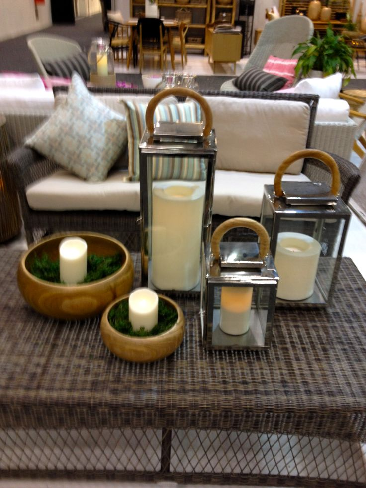 All weather candles with Satara's hurrican lanterns