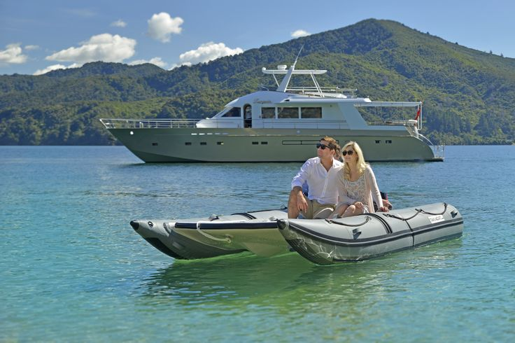 Nothing beats the Marlborough Sounds for relaxing and unwinding in pure luxury. Stay onboard or picnic alfresco, the choice is yours...