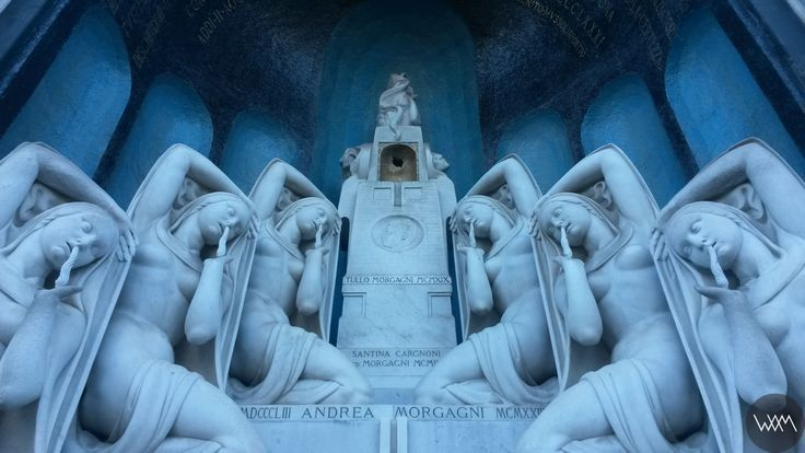 Cimitero Monumentale_Enzo Bifoli, Monumento  Morgagni www.waamtours.com