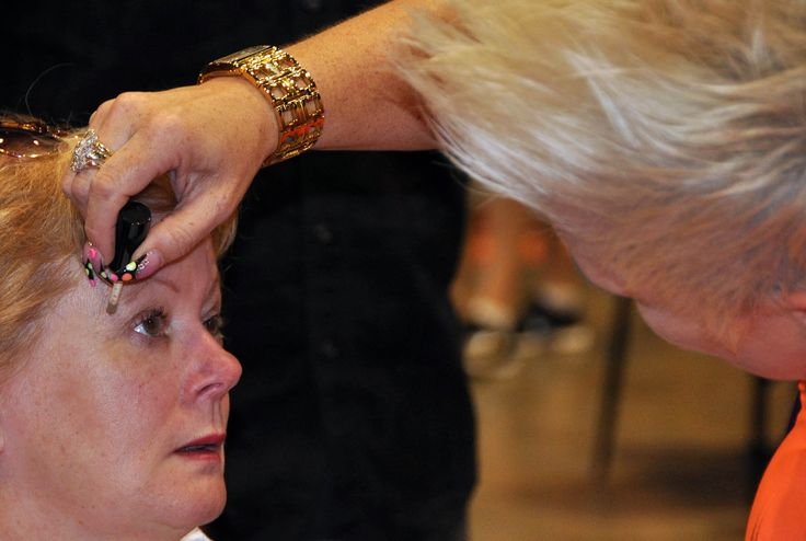 TK's Lashes at the Womens' Lifestyle Expo - CHRISTCHURCH 2013. Simply apply fabulous eyelash extensions just like mascara!