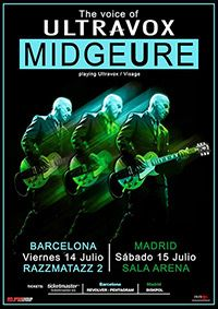 Midge Ure (Ultravox) 15-7-2017