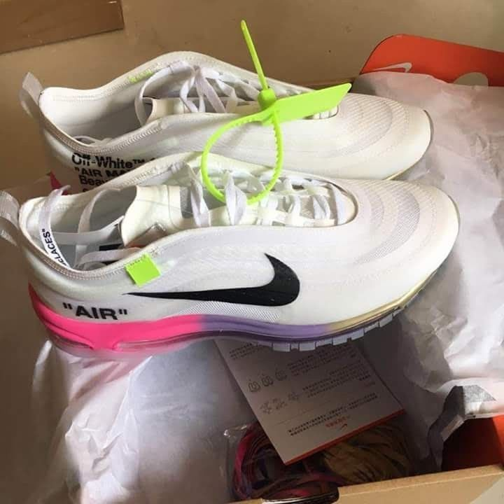 Nike Air Max 97 Serena Off White Queen 7 5 Men 10 Women In Hand Fashion Clothing Shoes Accessories Mensshoes Nike Air Max 97 Nike Air Max Air Max 97