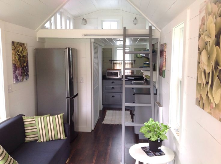 The Seagrass Cottage, just finished in the past week or so in Massachusetts was built with the intention of selling it on Tiny House Listings and finding a n...