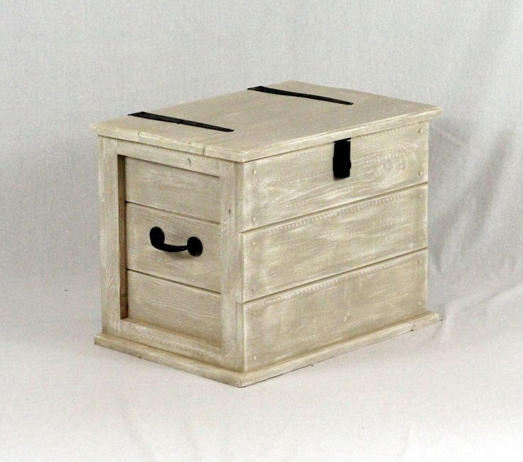 Medium Shabby Chic Wooden Storage Trunk / Chest / Coffee Table in Home, Furniture & DIY, Furniture, Trunks & Chests | eBay