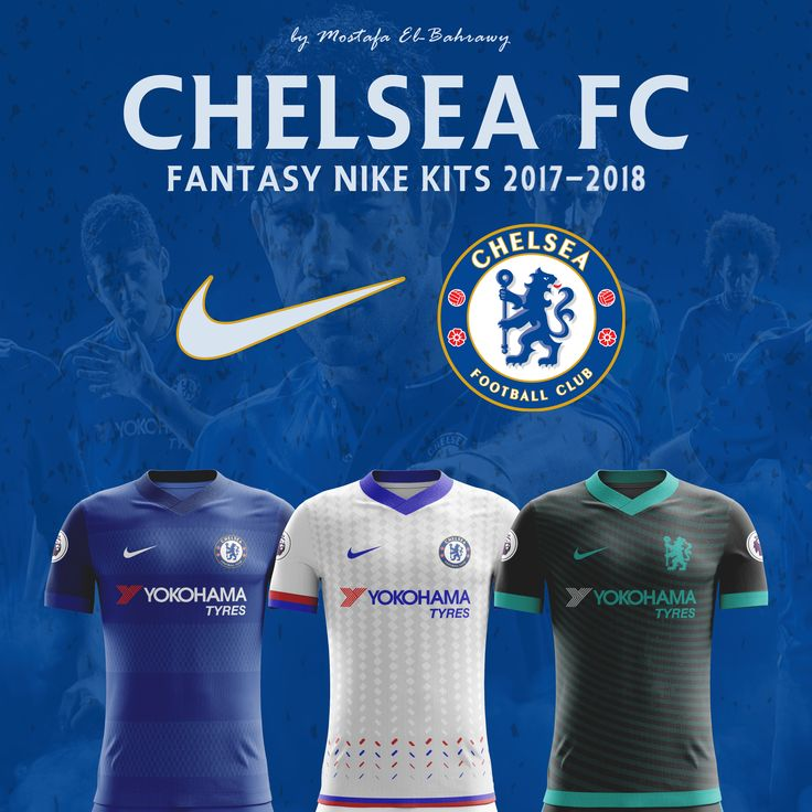 "Check out this @Behance project: ""Chelsea Nike Kits (2017-2018)"" https://www.behance.net/gallery/37484931/Chelsea-Nike-Kits-(2017-2018)"