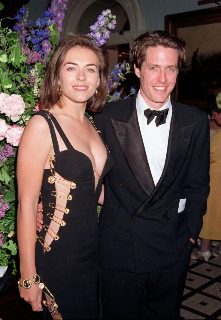 Elizabeth Hurley's Versace Safety-Pin Dress Is One Of The Sexiest Dresses Of All Time