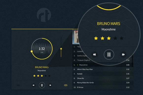 Check out Modern Music Player by RTdevs on Creative Market