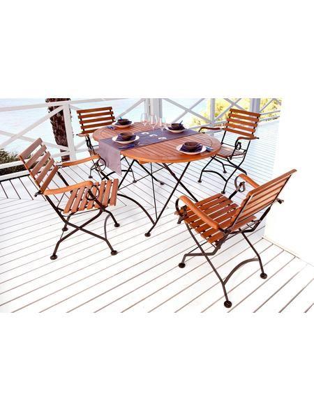 Amazing Gartenm belset Schlossgarten Sessel ovaler Tisch Stahl