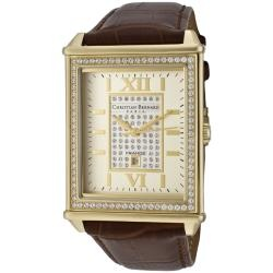 Christian Bernard men's 'Highlight' http://www.overstock.com/Jewelry-Watches/Christian-Bernard-Mens-Highlight-Brown-Genuine-Leather-Watch/6996751/product.html?CID=214117 $219.99