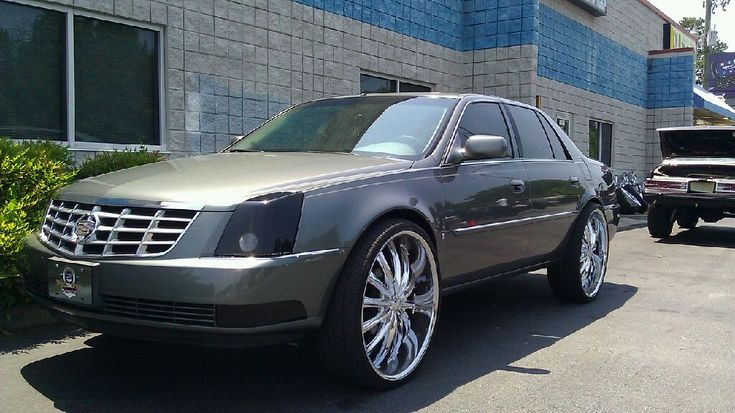 Deville On 24s 2010 Cadillac Dts On 26 Quot Rims Caddy