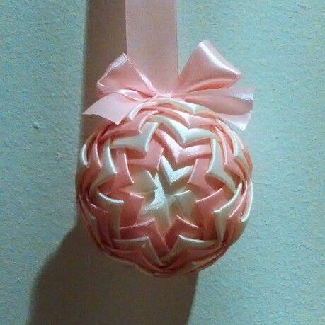 Kokardka i Wstążkowelove, czyli karczochowa kula #ribbon #handmade