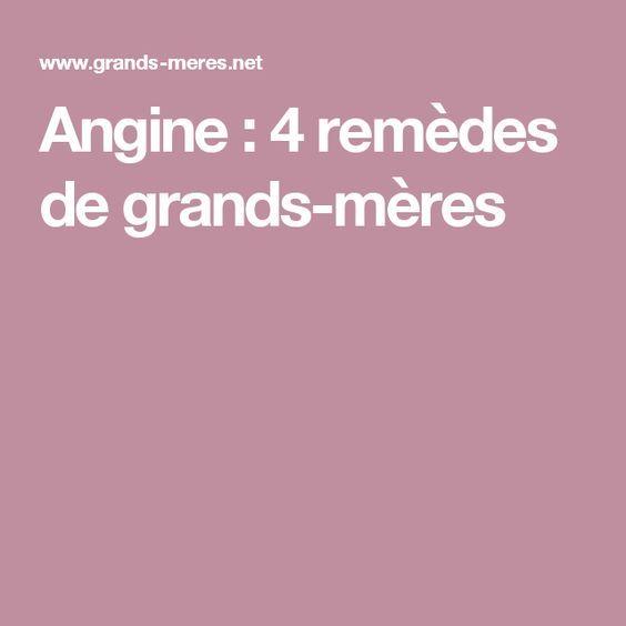 Angine : 4 remèdes de grands-mères