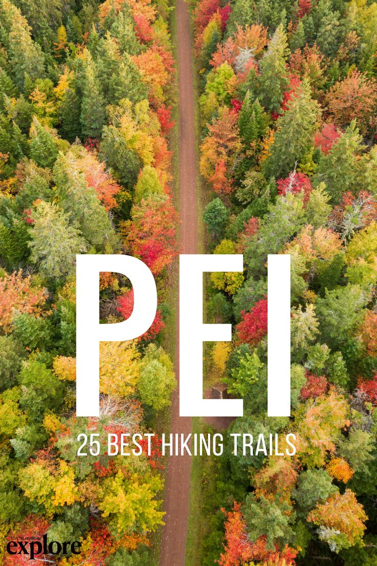 25 of the Best Hiking Trails on Prince Edward Island via Explore Magazine. Words by Alison Karlene Hodgins. #hike #trail #outside #outdoors #active #bike