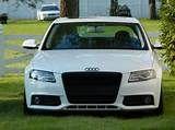 Custom White Audi A4 B8