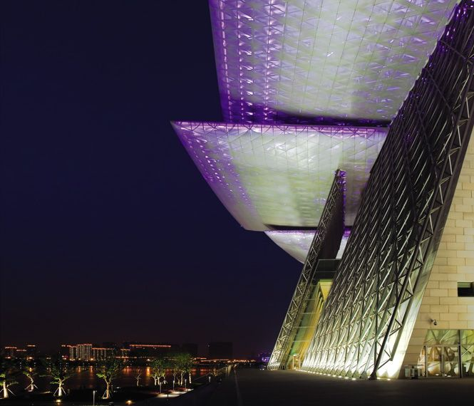 Wuxi Grand Theatre: Glowing Terms