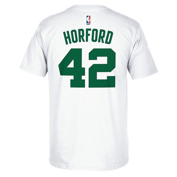 Men's Adidas Boston Celtics Al Horford Player Tee, Size: XL, White