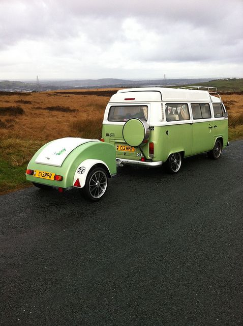 VW Camper and trailer