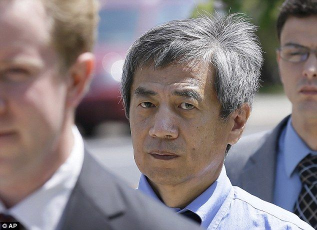 Faked research: Iowa State University researcher Dong-Pyou Han, pictured last year,  was sentenced on Wednesday, July 1, 2015 to over four years behind bars