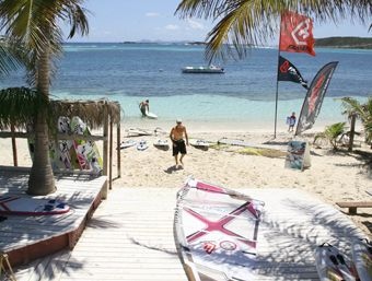 Windsurfing Holidays in St. Martin with Fanatic The Boarders Center