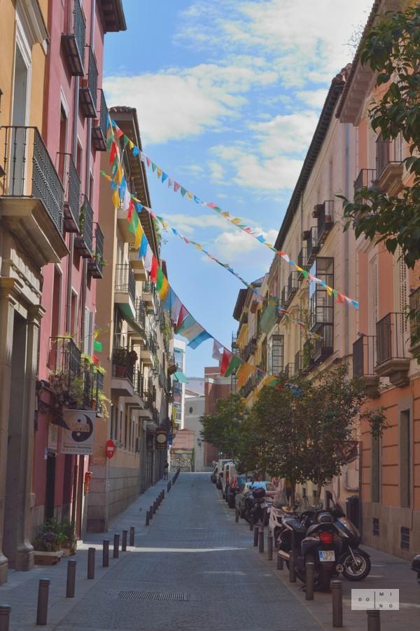 Madrid in summer