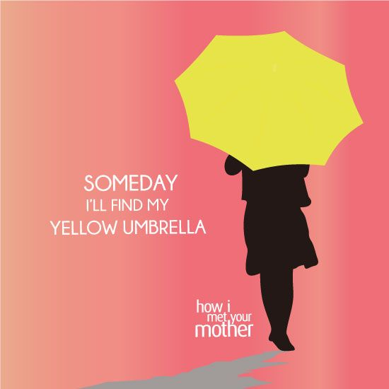 Someday I'll Find My Yellow Umbrella