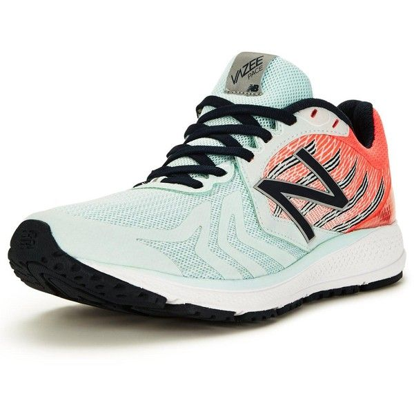 New Balance Wpacev2 Running Trainers (525 SEK) ❤ liked on Polyvore featuring shoes, new balance footwear, new balance, new balance shoes, pink shoes and wrap shoes