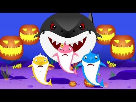 Baby Shark Dance With Kids Wearing Shark Costumes! | Animal Songs | PINKFONG Songs for Children - YouTube