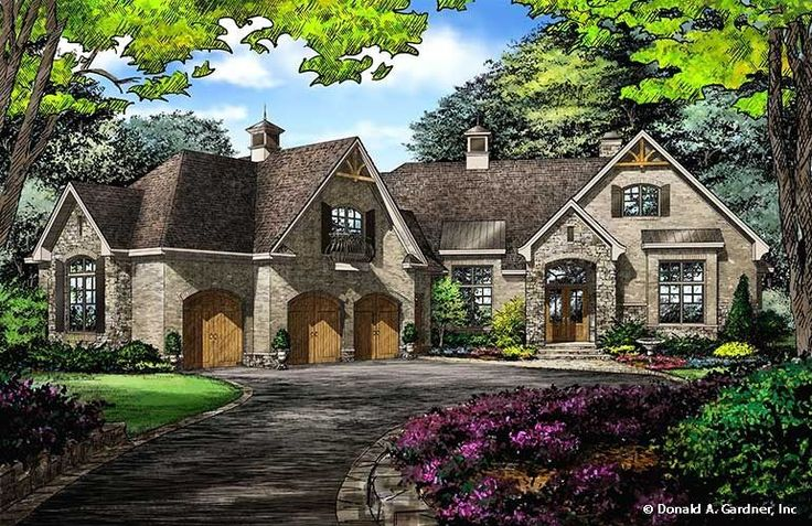 THIS!  Fave!!  Lots of bonus upstairs, perfect dining, living, and study with high ceilings!  The Bartlett House Plan