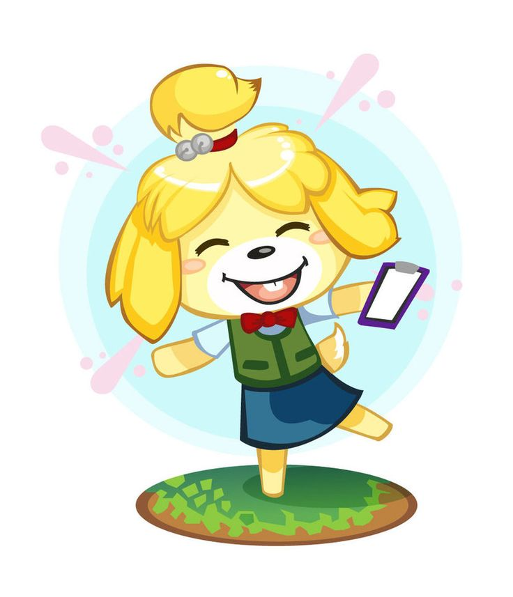 Isabelle from Animal Crossing New Leaf Animal crossing