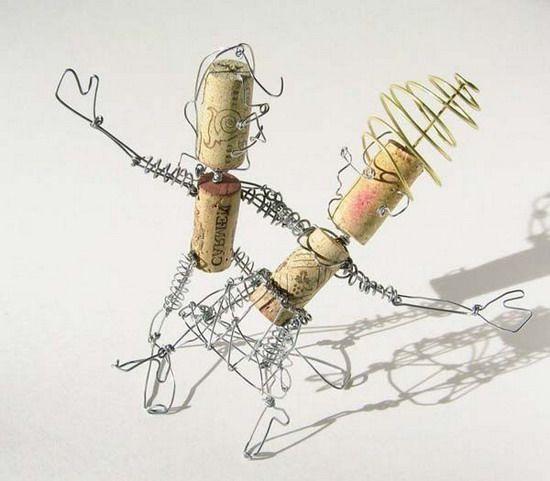 Как сделать фигурки из скрепок: поделки из проволоки и канцелярских принадлежностей. Фото | Своими руками