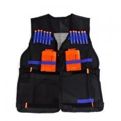 [ 31% OFF ] Nerf Tactical Vest Jacket Waistcoat Magazine Ammo Holder For N-Strike Elite Pistol Bullets Toy Guns Clip Darts