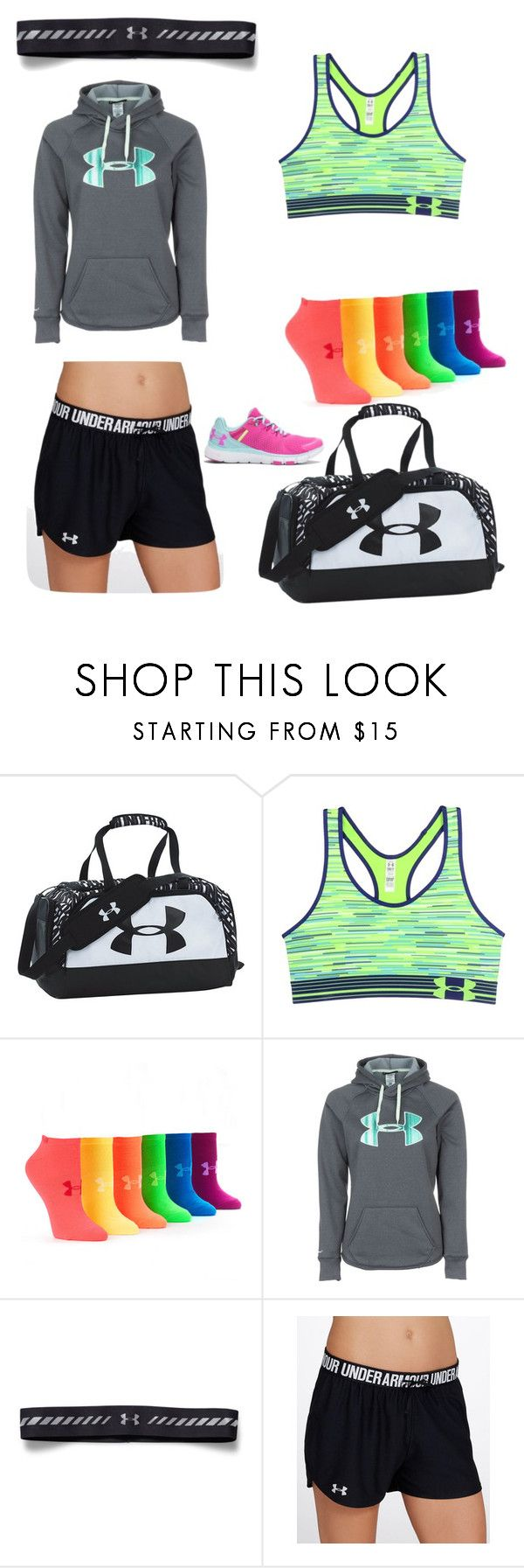 """""""Under amour"""" by mckinley2004 ❤ liked on Polyvore featuring Under Armour"""