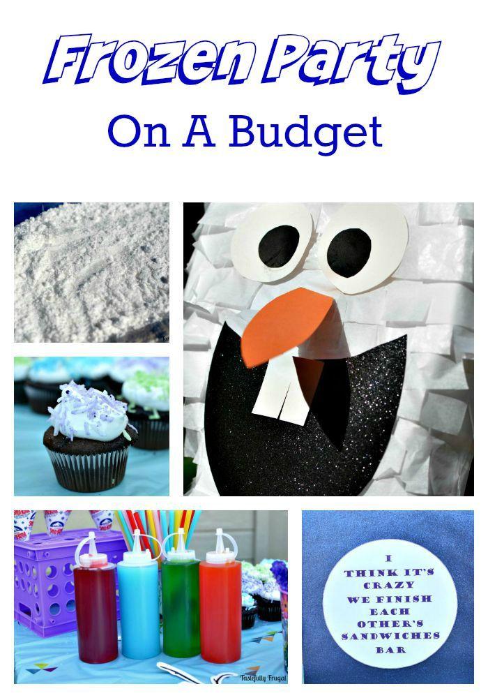 Frozen Party On A Budget www.tastefullyfrugal.org