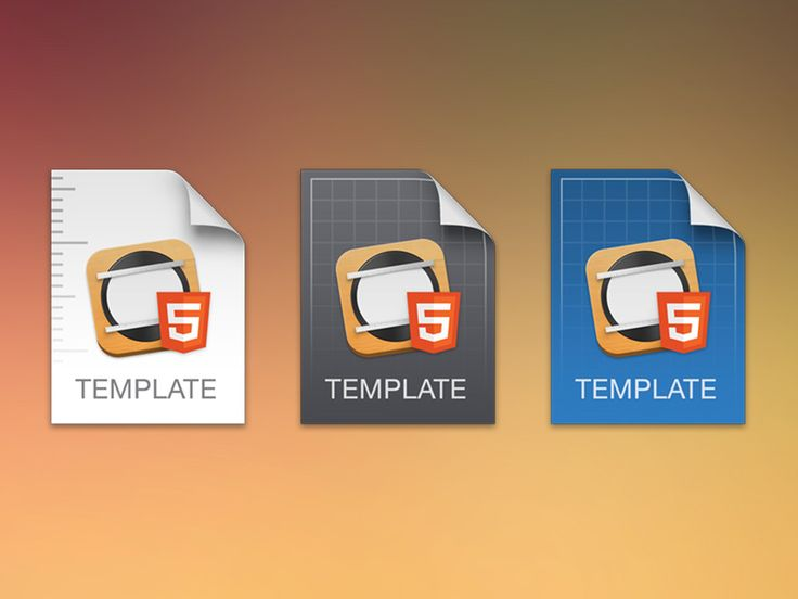 Template Icon Experiment
