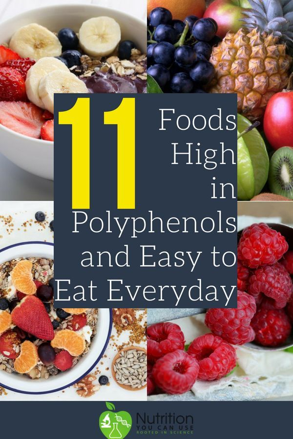 11 Foods High in Polyphenols and Easy to Eat Everyday ...