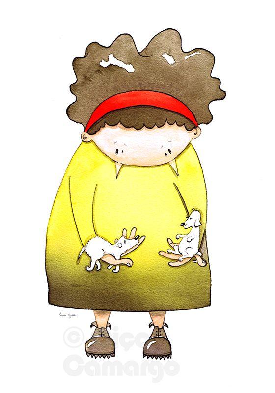 Illustrations   Ciça Camargo