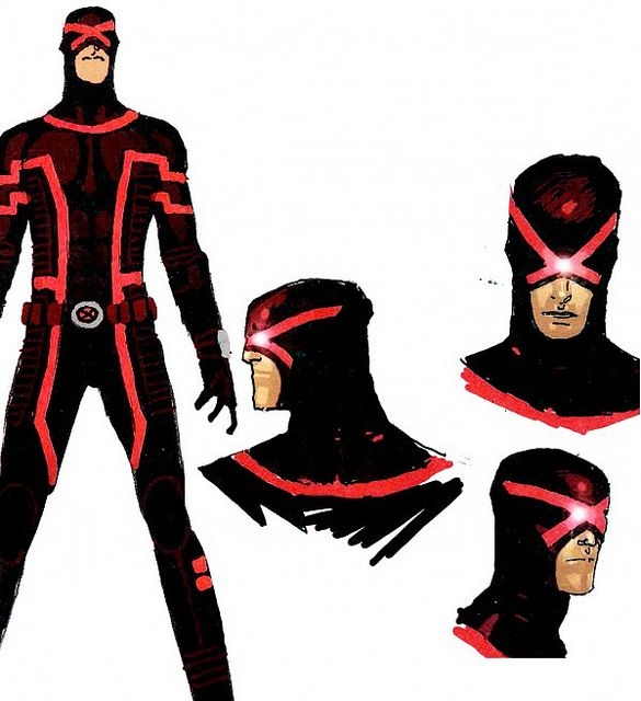 Found on farm9 static flickr comX Men Cyclops Costume